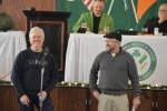 AOH President Greg Brown and Hibernian of The Year Chris Konik