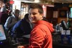 Chris Tending Bar